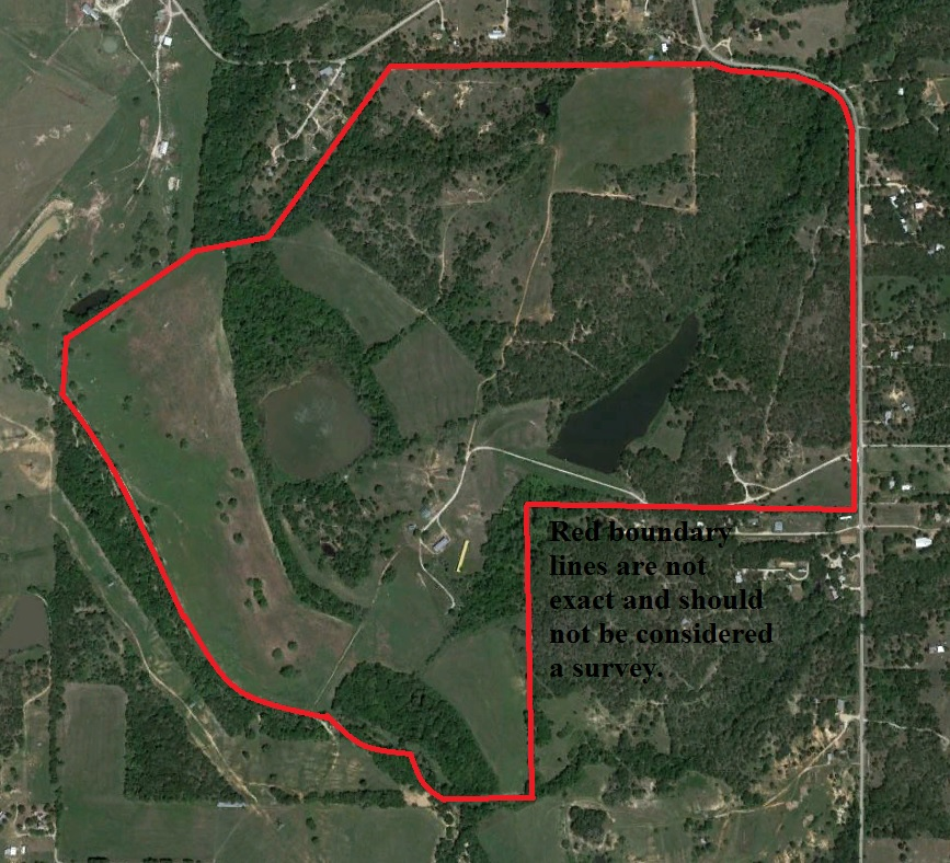 Aerial Photography Map Of Highlands Ranch Co Colorado: 383 Acre High Fenced Hunting Ranch, Poolville